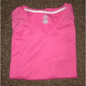 Pink Russell Training Shirt💞